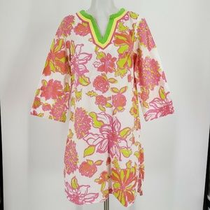 Lilly Pulitzer Tunic Dress Cover Up Floral